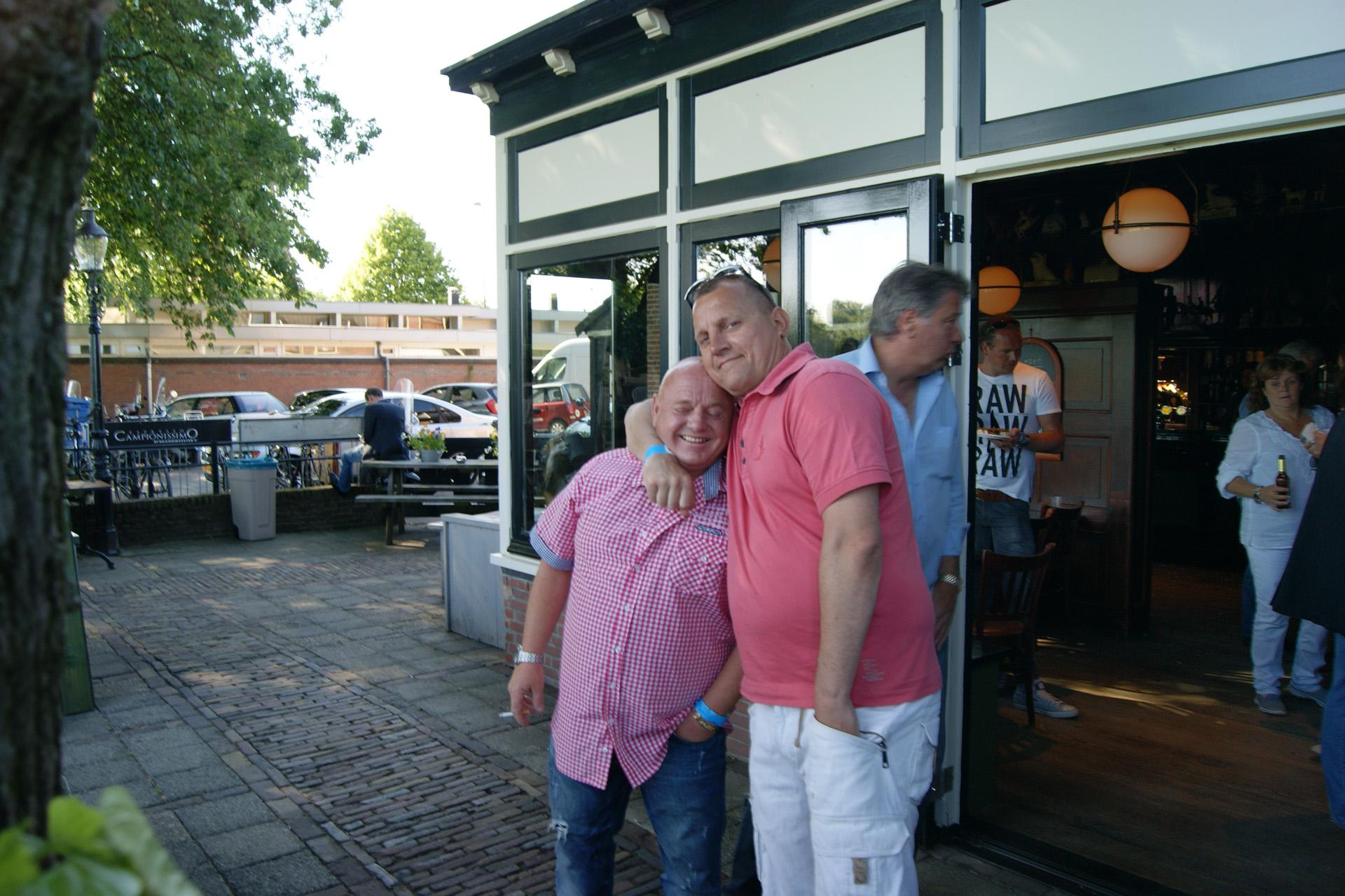 Hans Steiger fandag 2015 Muziek zon en gezelligheid